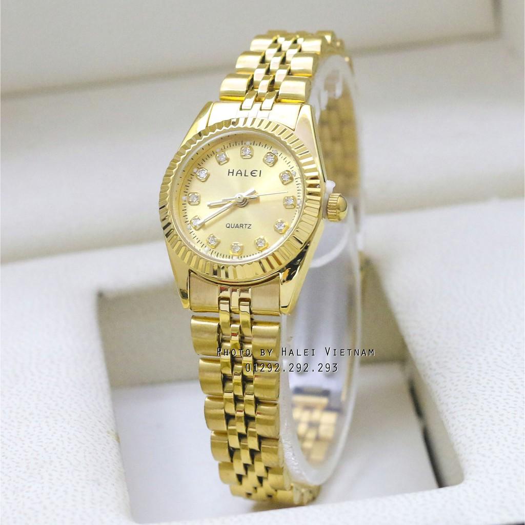 Đồng hồ nữ dây thép màu vàng chống nước HALEI 356 - 3523118 , 1227991865 , 322_1227991865 , 250000 , Dong-ho-nu-day-thep-mau-vang-chong-nuoc-HALEI-356-322_1227991865 , shopee.vn , Đồng hồ nữ dây thép màu vàng chống nước HALEI 356