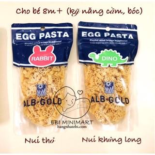 Nui hình chữ cái Egg Pasta Nhật cho bé thumbnail