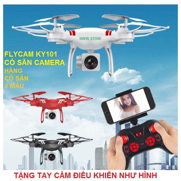 [Gồm Camera] Máy Bay Flycam KY101 Cao Cấp, Kết Nối Wifi Với Điện Thoại + Tặng Tay Cầm Điều Khiển Từ Xa - 14031613 , 1528696552 , 322_1528696552 , 956000 , Gom-Camera-May-Bay-Flycam-KY101-Cao-Cap-Ket-Noi-Wifi-Voi-Dien-Thoai-Tang-Tay-Cam-Dieu-Khien-Tu-Xa-322_1528696552 , shopee.vn , [Gồm Camera] Máy Bay Flycam KY101 Cao Cấp, Kết Nối Wifi Với Điện Thoại +
