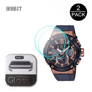 Set 2 Kính Cường Lực Bảo Vệ Màn Hình Đồng Hồ Casio G-Shock Gst-B200G Gst-B200X Kèm Phụ Kiện