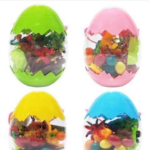 [FREESHIP+TẶNG QUÀ] Bộ đồ chơi trứng Khủng Long-Mô hình nhựa dẻo-siêu bền-sưu tầm-chơi trong nhà-màu sắc bắt mắt