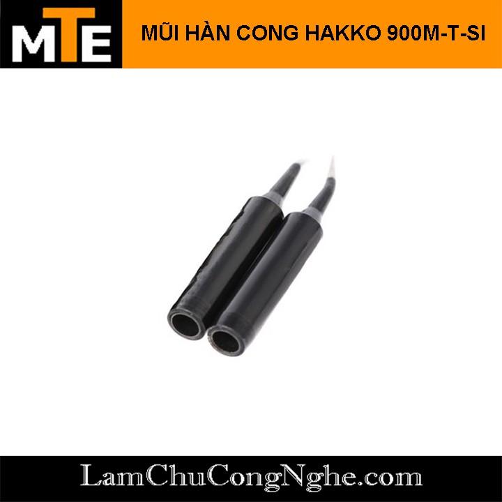 Mũi Hàn Hakko 900M-T-SI đen ( Loại tốt ) Mũi hàn thiếc tương thích với mỏ hàn 907, 936...
