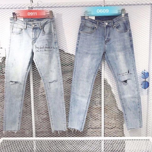 << Siêu Sale >> Quần jean nam hàng đẹp nhiều mẫu đủ size