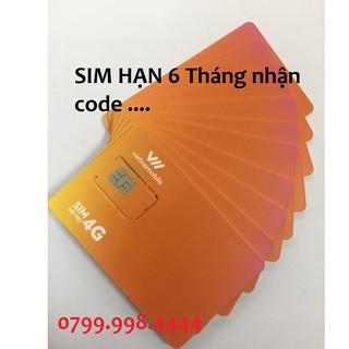 SIM Vietnamobile Hạn 6 tháng không cần nạp thẻ tạo tài khoản zalo fb shope