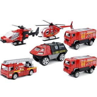 Bộ xe cứu hộ 6 chiếc