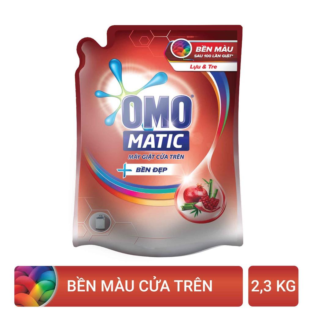 Nước giặt OMO Matic 2,3KG (Túi)