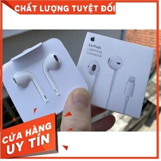 [ RẺ VÔ ĐỊCH] Tai nghe IPhone chân dẹp siu giấy zin IC 11 Pro Max cắm vào nghe luôn Full box Siu xanh thumbnail
