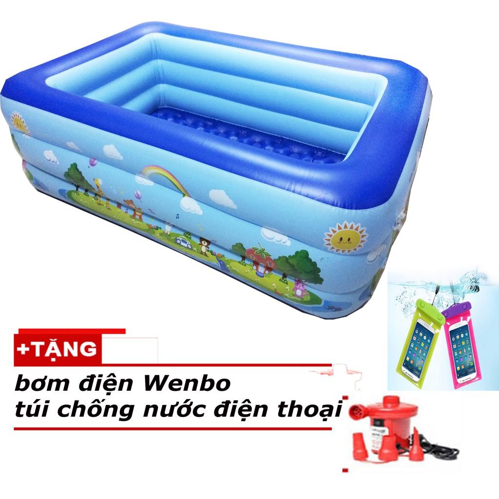 Bể phao bơi giá rẻ 2m10 + bơm điện + tặng túi đựng điện thoại chống nước - 2529558 , 251095377 , 322_251095377 , 549000 , Be-phao-boi-gia-re-2m10-bom-dien-tang-tui-dung-dien-thoai-chong-nuoc-322_251095377 , shopee.vn , Bể phao bơi giá rẻ 2m10 + bơm điện + tặng túi đựng điện thoại chống nước