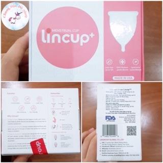 [ Tặng full quà] Cốc Nguyệt san Lincup chính hãng 100% 2