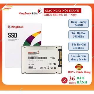 Ổ Cứng SSD Kingbank 240Gb Sata3 6Gb s Chính Hãng Giá Tốt - Bảo Hành 36 Tháng thumbnail