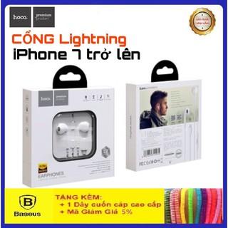 Tai Nghe IphoneCAO CẤPTai Nghe Hoco Chân Lightning L7 PLUS Dành Cho Các Dòng Iphone 7,8,X,XS,11,11PRO...