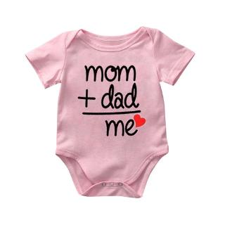 Jumpsuit in chữ thời trang mùa hè dành cho bé từ 0 - 6 tháng tuổi
