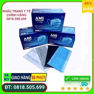 Khẩu trang y tế Ami (Hàng chính hãng - 4 lớp cao cấp) thumbnail