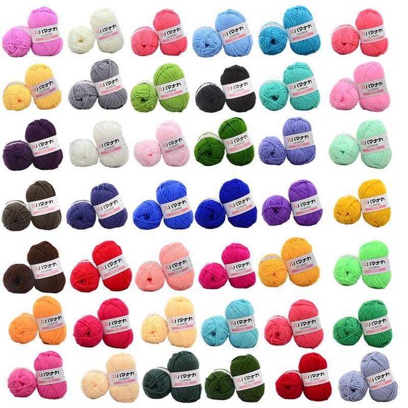 Cuộn len cotton dày mềm mại chất lượng cao chuyên dùng đan thủ công
