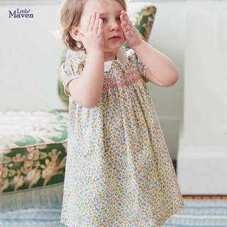 Váy công chúa Little maven hoa nhí