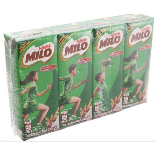 Milo lốc 180ml có - ít đường