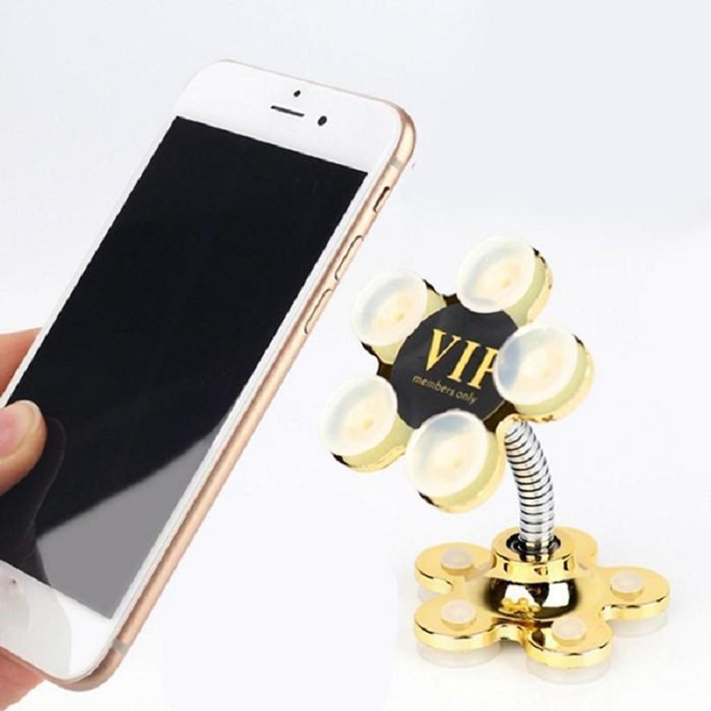 Giá đỡ điện thoại hình bông hoa siêu hút , tiện lợi, nhỏ gọn , cao cấp TOP CITY