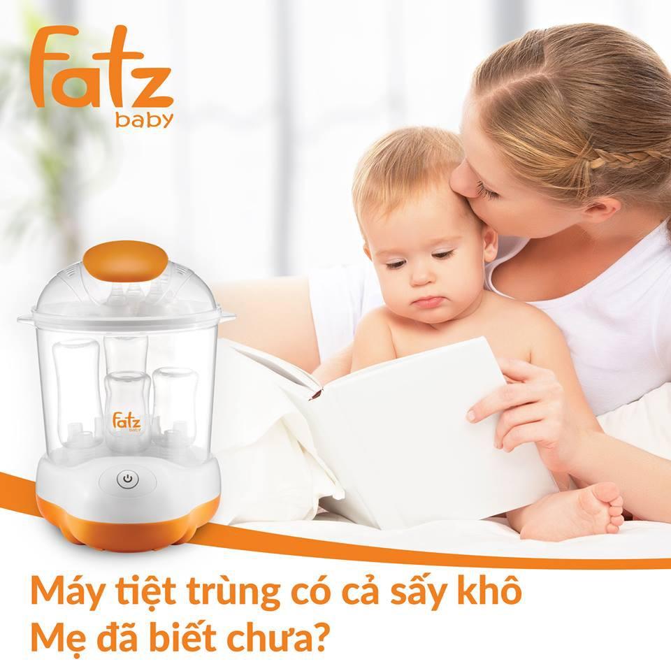 Máy tiệt trùng bình sữa và sấy khô bình sữa Fatz baby FB4906SL cao cấp