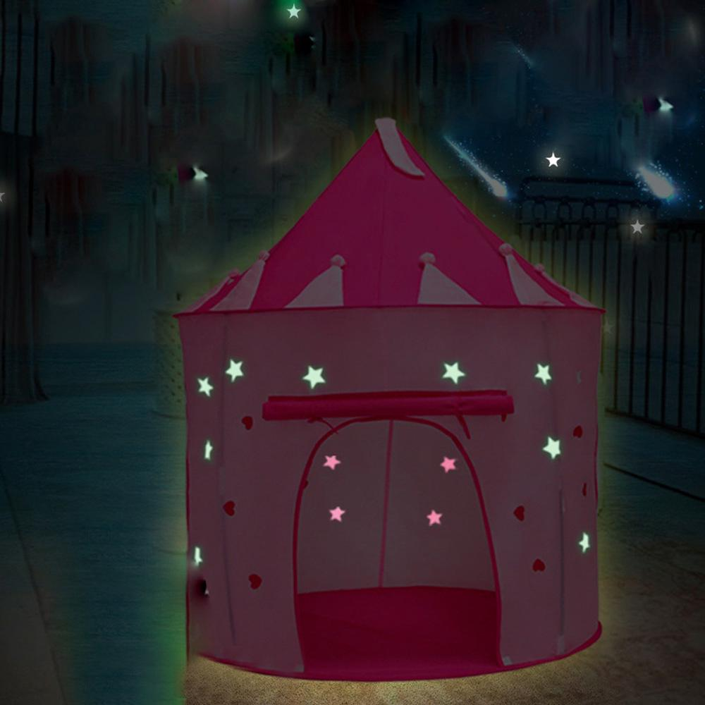 Funny Castle design Ball Poor Game Play House Tent For Kids Children Baby play