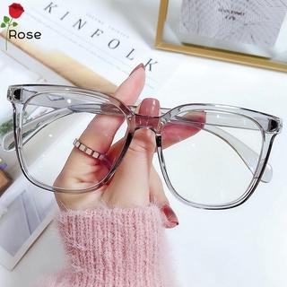 ROSE Unisex Blue Light Blocking Glasses Radiation Protection Eyeglasses Computer Goggles Vision Care Ultralight Flexible Fashion Flat Mirror Eyewear/Multicolor