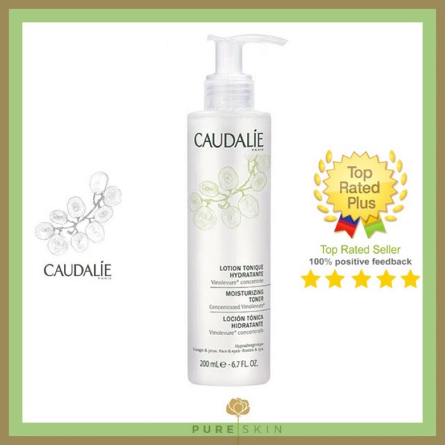 Nước hoa hồng Caudalie Lotion Tonique Hydratante Moisturizing Toner 200ml