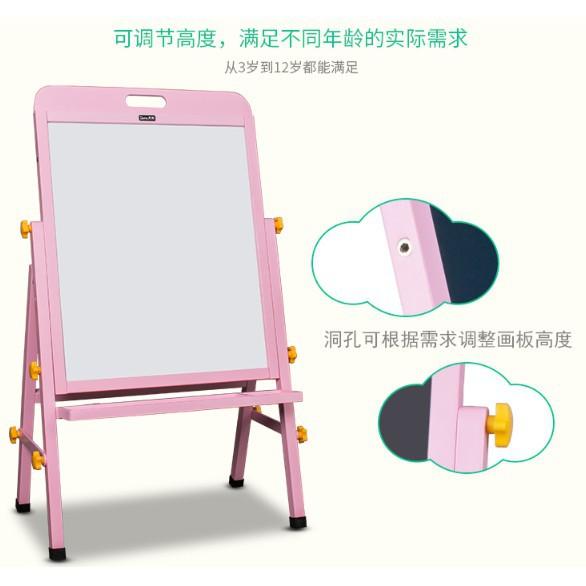 bảng gỗ 2 mặt vẽ màu trơn cho bé