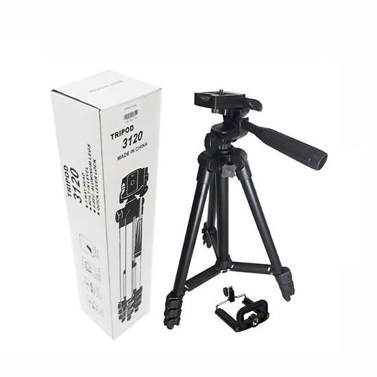 [Mã ELFLASH5 giảm 20K đơn 50K] Gậy 3 chân chụp hình máy ảnh, điện thoại Tripod TF - 3120