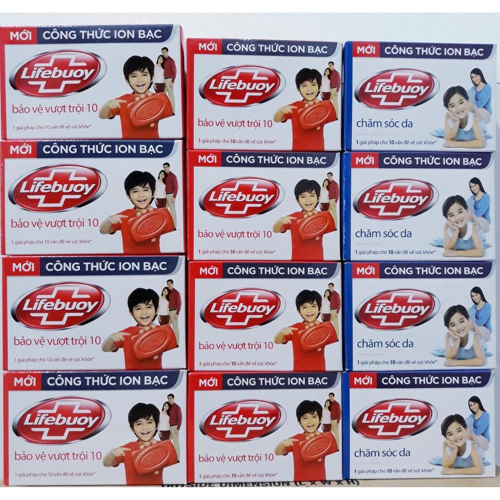 Xà Bông Cục Lifebuoy Bánh 90g -125g