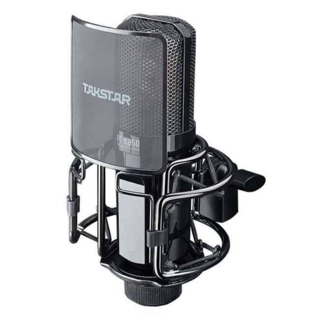 [Mã SKAMPUSHA7 giảm 8% đơn 250k]Mic Thu âm Livestream cao cấp TAKSTAR PC K850-bảo hành 12 tháng đổi mới