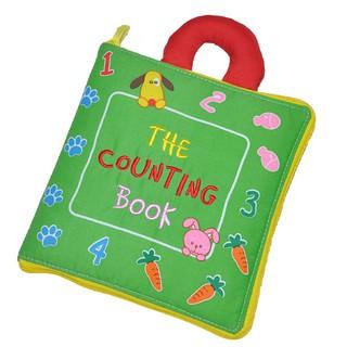 Sách Vải The Counting Book – Luyện Kỹ Năng Cho Bé