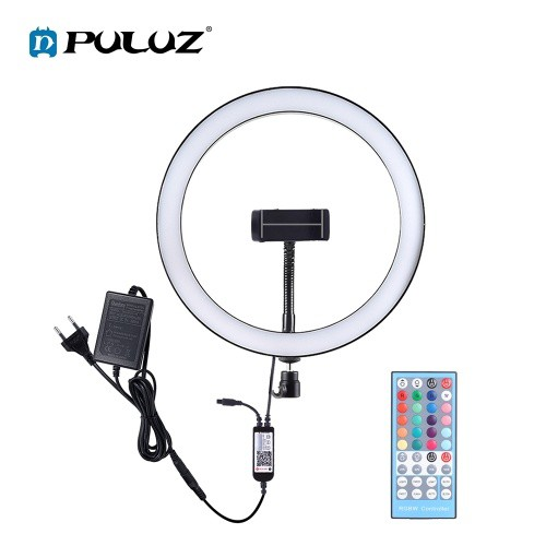 PULUZ LEDs Video Ring Light BT Connection Remote Control