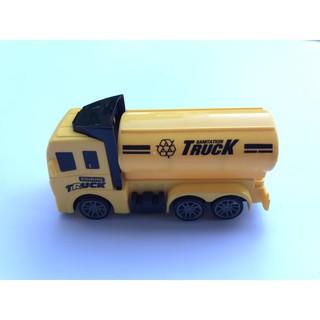 Đồ chơi xe ô tô Truck xinh xắn màu vàng có bánh đà cho bé giá rẻ siêu ưu đãi 7