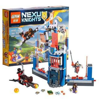 Xếp hình Nexo Knight Lepin 14007 – Thư viện của các hiệp sĩ Nexo Knight