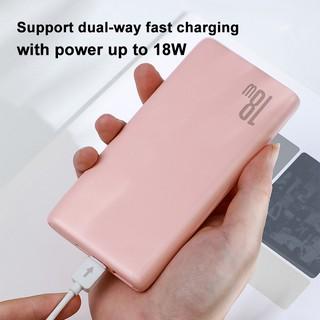 Hình ảnh Sạc dự phòng Baseus 18W 10000mAh tốc độ nhanh kết nối cổng USB3.0 cho iPhone Xiaomi-3