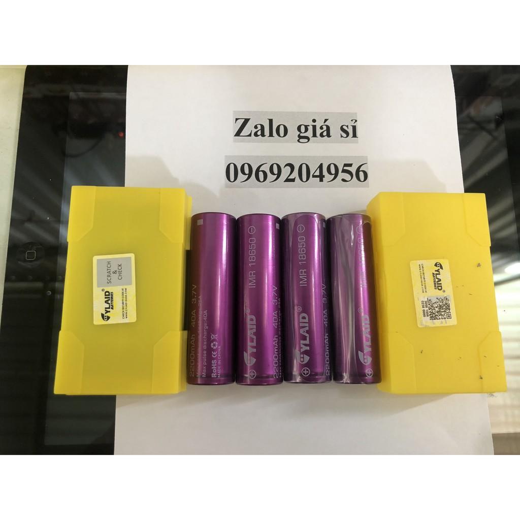 cell pin cylaid 2200mah 40a 3,7v chính hãng mới 100% giá 60.000 1 viên