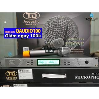 Micro không dây TD M8 Pro (CHÍNH HÃNG) nhập mã[ QAUDIO100 ] giảm 100k