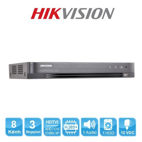 Đầu ghi hình Hybrid TVI-IP 8 kênh TURBO 4.0 HIKVISION DS-7208HQHI-K1(S)