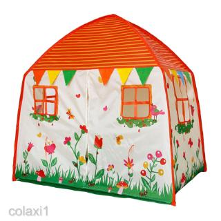 Playhouse with Garden Patterns House Game Tent Kids/Baby Indoor Toy