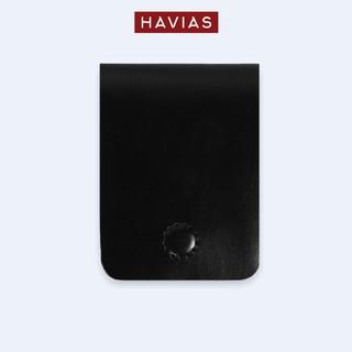 VÍ SEN HAVIAS BASIC6 THỦ CÔNG HANDMADE DA BÒ THẬT 100% HAVIAS