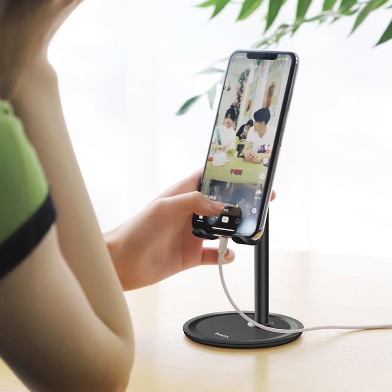 Giá đỡ Hoco PH15 để bàn dành cho điện thoại, máy tính bảng 4.7-10 inch