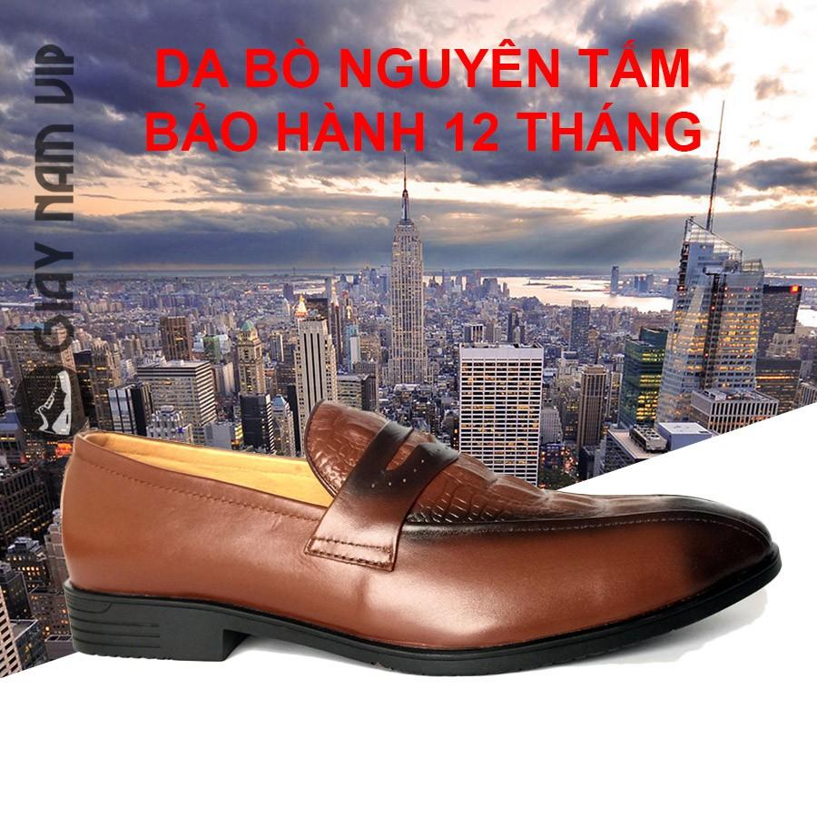 Giày Lười Nam - FREESHIP - Giày Nam Cao Cấp Penny Loafer Kinh Điển GVN04