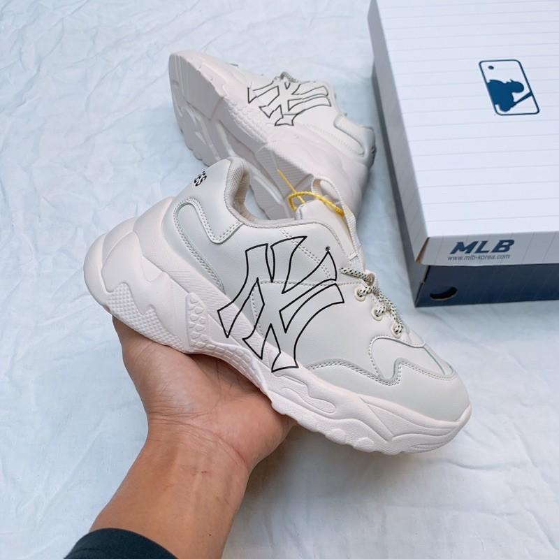 [Tặng hộp và quà tự chọn] Giày thể thao đế cao hoạ tiết n