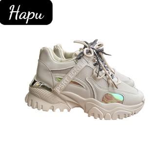 Giày sneaker nữ HAPU thể thao thời trang , cá tính 707 Hot Trend mới nhất 2021 ( 3 màu ) thumbnail
