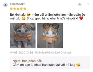 Doll Ohahtae fansite Con Bố Taehyung Tặng Kèm Quà 6