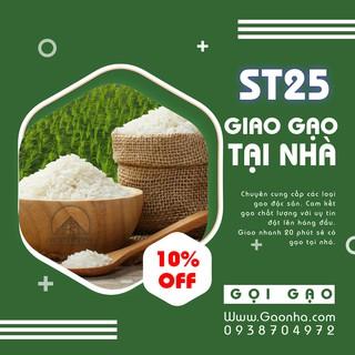Gạo St25 | Gạo Sóc Trăng 5kg Gạo Xuất Khẩu Ngon Nhất Thế Giới