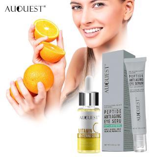 Bộ Serum + Kem AUQUEST Chứa Vitamin Collagen Làm Trắng Giúp Dưỡng Da Mắt Chống Oxy Hóa thumbnail