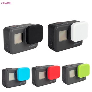 Hot Silicone Lens Lenses Cap Cover Case Protective For GoPro Hero 5 Black Camera