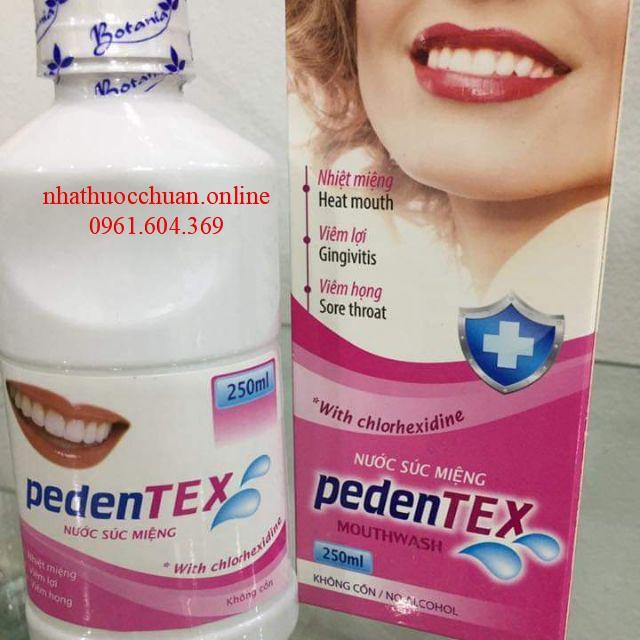 Nước súc miệng Pedentex
