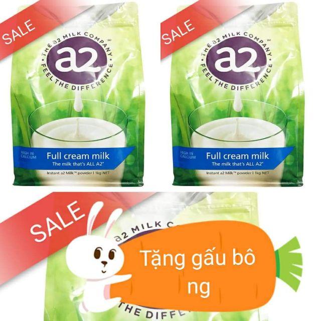 MẪU MỚI Sữa tươi nguyên kem dạng bột A2 úc gói 1kg DATE 7/2019 - 2658752 , 508408232 , 322_508408232 , 450000 , MAU-MOI-Sua-tuoi-nguyen-kem-dang-bot-A2-uc-goi-1kg-DATE-7-2019-322_508408232 , shopee.vn , MẪU MỚI Sữa tươi nguyên kem dạng bột A2 úc gói 1kg DATE 7/2019