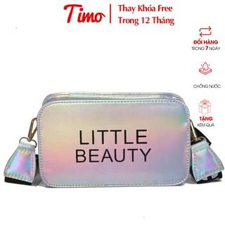 Túi đeo chéo nữ, Túi bao tử nữ ulzzang nhiều ngăn phản quang thiết kế basic đi du lịch phong cách Hàn Quốc VI001 thumbnail